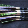 Traditional arrows, wood arrows, cedar arrows, Sitka spruce arrows, Glenn St Charles, Suzanne St Charles